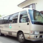 金隈病院の送迎バス
