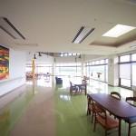 楽陽園の4階食堂兼談話室