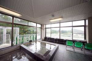 楽陽園の4階浴場(展望)